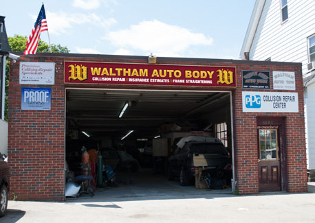 Waltham Auto Body Repair Shop